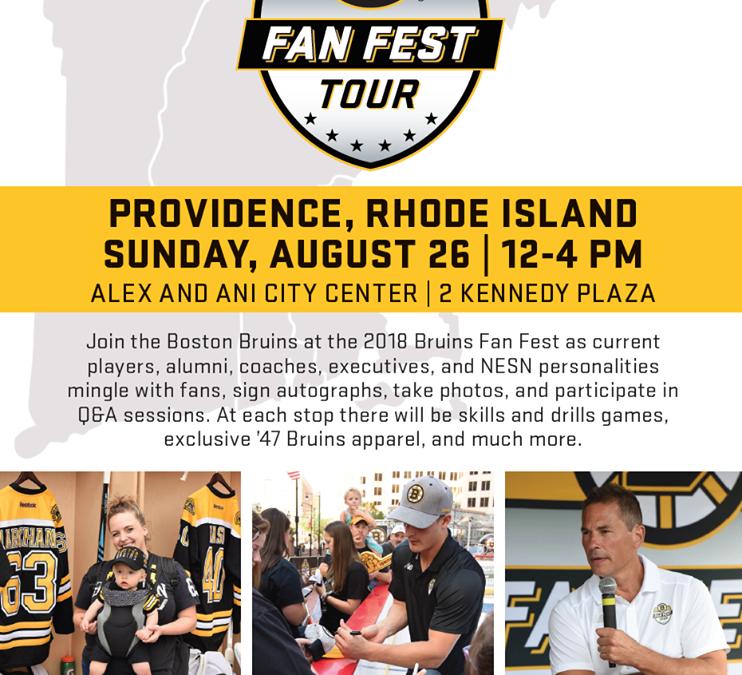 Bruins Fan Fest Tour
